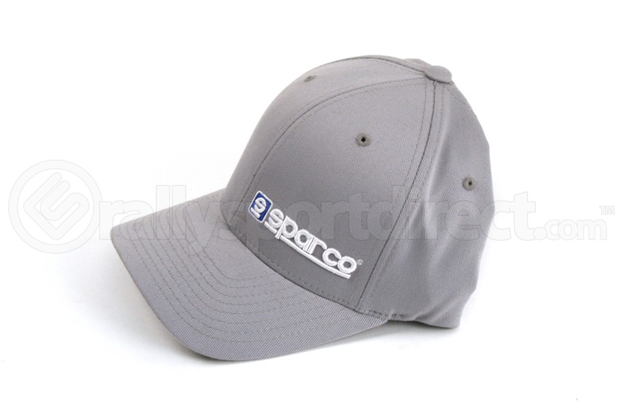 Sparco Hat Lid Grey Large/XLarge FlexFit Tuning ( Part Number:SPR2 SP14GR)