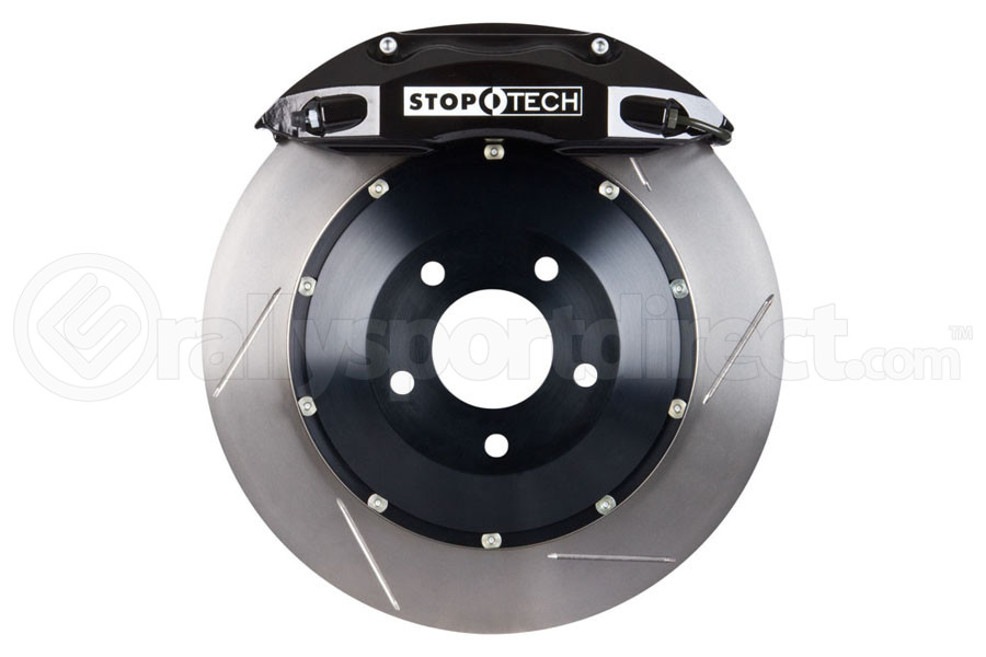 Stoptech ST-40 Big Brake Kit Front 332mm Black Slotted Rotors (Part Number:83.839.4600.51)