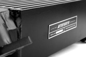 Mishimoto Black Top Mount Intercooler w/ Blue Hose - Subaru WRX 2008-2014