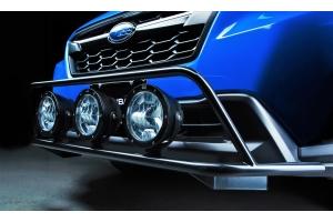 Crawford Front Bumper w/ KC HiLites Pro6 Gravity Light Kit - Subaru Crosstrek 2018-2021