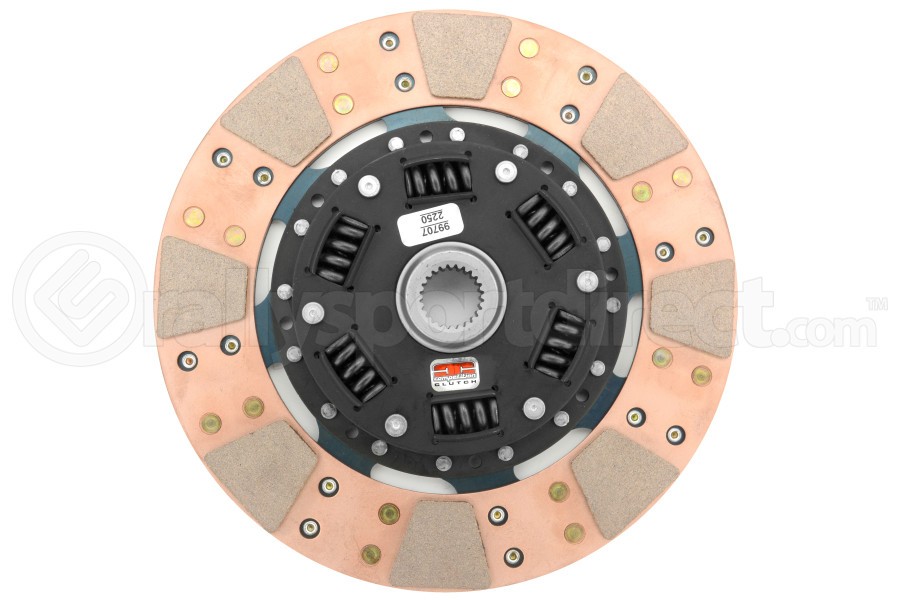Competition Clutch Replacement Full Face Dual Friction Disc (Part Number:99707-2250)
