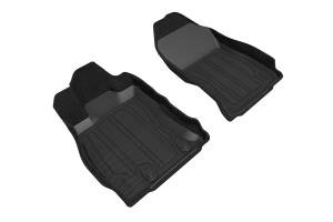 3D MAXpider Elegant Hybrid Front Floor Liners Black - Subaru Forester 2019-2021