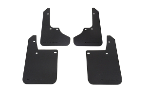 Rally Armor Basic Mud Flaps Black Logo ( Part Number:RAL MF2-BAS-BLK)
