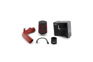 Mishimoto Race Air Intake Wrinkle Red - Subaru WRX 2015+
