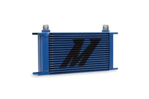 Mishimoto Universal 19 Row Oil Cooler Blue - Universal