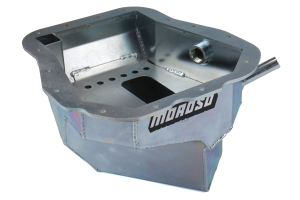 Moroso Steel Oil Pan w/ Pickup - Subaru Models (inc. 2002-2014 WRX / 2004-2014 STi)