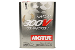Motul 300V High RPM 15W50 Engine Oil 2.1qt - Universal