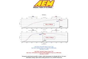 AEM Cold Air Intake System - Subaru Legacy 2017-2019