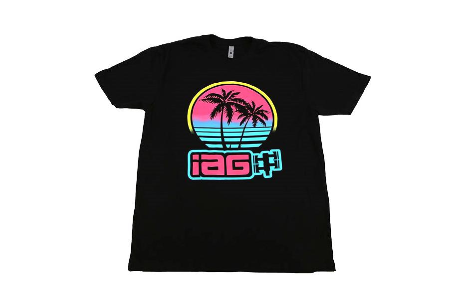 IAG Men's Miami T-Shirt Black - Universal