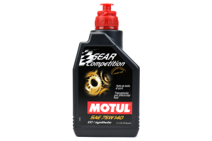 Motul Gear Competition 75W140 Synthetic Ester Based Gear Oil 1L ( Part Number: 101161)