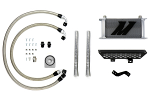 Mishimoto Oil Cooler Kit Silver Non-thermostatic - Ford Focus ST 2013+