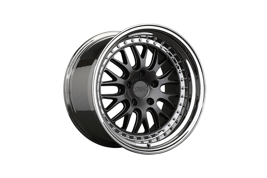XXR 570 5x120 Graphite w/ Platinum Lip - Universal