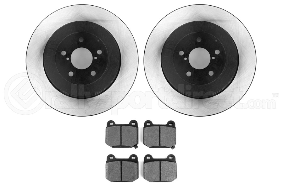 Stoptech Preferred Axle Pack Rear (Part Number:909.47508)