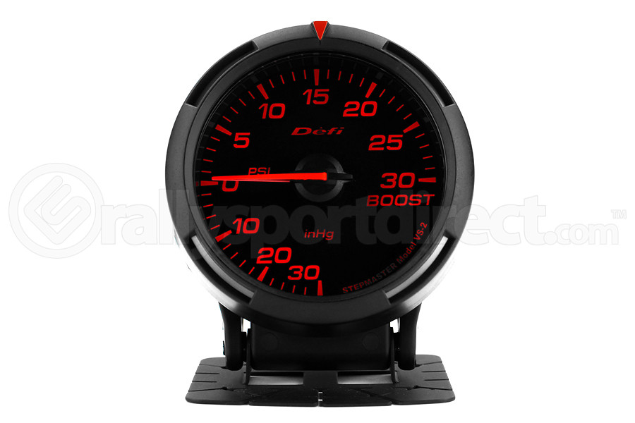 Defi Red Racer Boost Gauge Imperial 60mm 30 PSI (Part Number:DF11502)