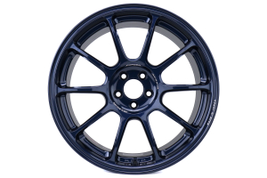 Volk ZE40 18x9.5 +43 5x100 Matte Blue Gunmetal - Universal