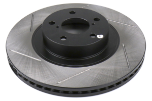 Stoptech Slotted Front Right Rotor Single (Part Number: )