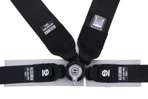 Sparco Belt Four Point Harness Black - Universal