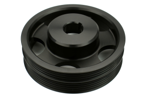 COBB Lightweight Crank Pulley Black (Part Number: )