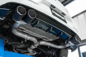 MBRP PRO Series 3 in Cat Back Exhaust w/ Carbon Fiber Tips - Volkswagen Golf R 2015 - 2020