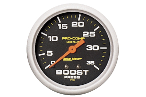Autometer Pro-Comp Boost Gauge Mechanical 2-5/8in - Universal