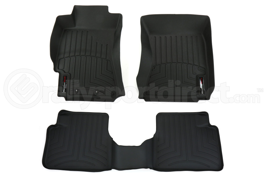 Weathertech Front and Rear Floor Liner Set Black (Part Number:441881-441662)