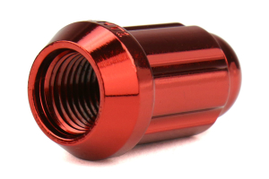 Gorilla Small Diameter Acorn Red Lug Nuts 12x1.25 (Part Number: )