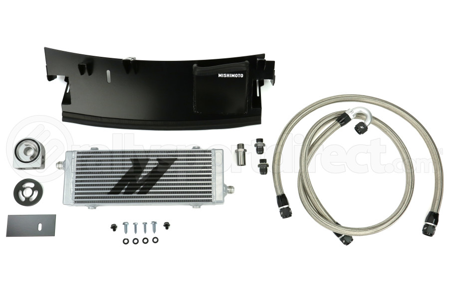 Mishimoto Oil Cooler Kit Silver - Ford Focus RS 2016+