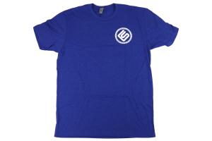 RallySport Direct Left Chest Circle T-Shirt Blue - Universal