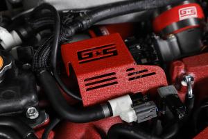 GrimmSpeed Boost Control Solenoid Cover Red - Subaru STI 2008-2021