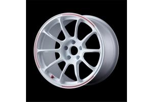 VOLK Racing ZE40 RW 18x10 +38 5x114.3 Dash White - Universal