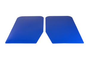 Sparco Universal Mud Flaps Blue Competition ( Part Number: 03791AZ)