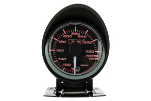 ProSport Water Temperature Gauge Electrical w/Sender Amber/White 52mm ( Part Number:PRS 216SMWAWTWNCL270-PK.F)