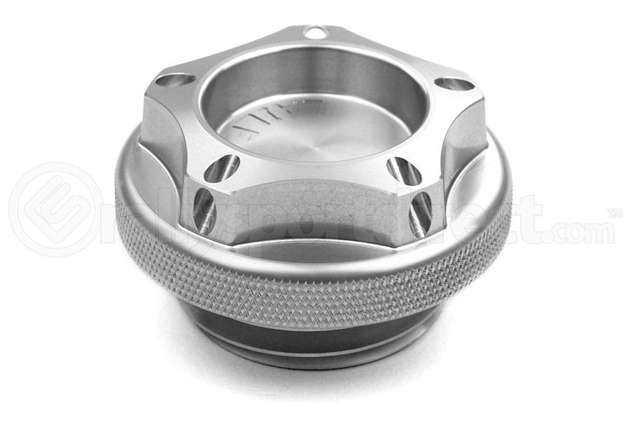 Beatrush Oil Cap Silver - Subaru Models (inc. 2002-2014 WRX / 2004+ STI)