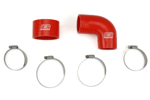 Grimmspeed Top Mount Intercooler Silicone Coupler Kit Red (Part Number: )