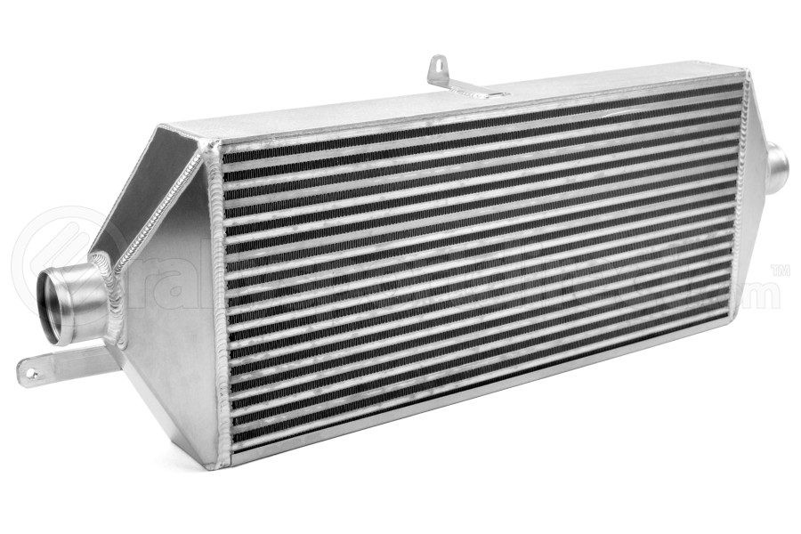 ETS Front Mount Intercooler Black Piping Silver Core (Part Number:100-27WB)