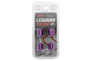 KICS Leggdura Racing Purple Valve Cap (Part Number: )