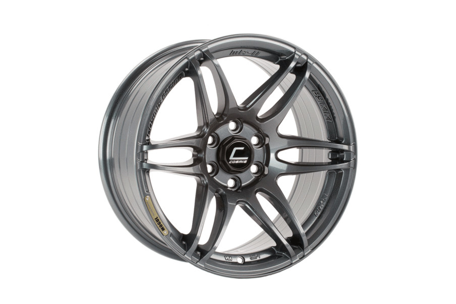 Cosmis Racing Wheels MRII 17x8 +15 6x114.3 Gunmetal - Universal