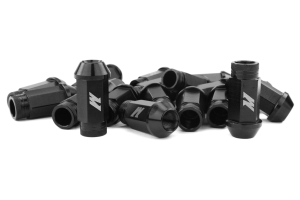 Mishimoto Aluminum Locking Lug Nuts Black 12x1.50 (Part Number: )
