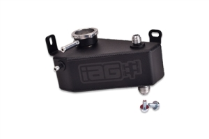 IAG Coolant Expansion Tank Black - Subaru WRX / STI 2002 - 2007