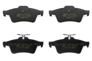 Hawk HP Plus Rear Brake Pads - Ford/Mazda Models (inc. 2013-2014 Ford Focus ST / 2007-2013 Mazdaspeed3)