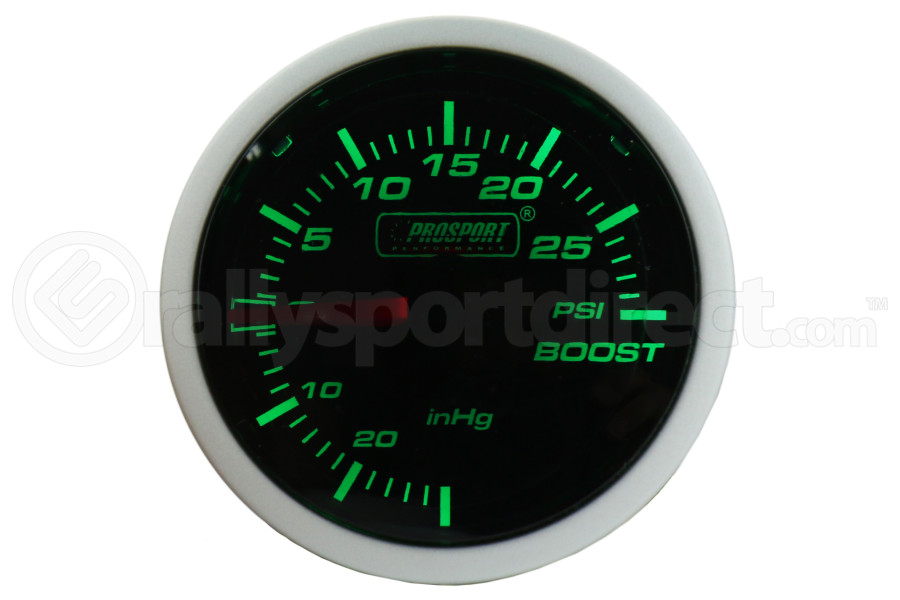 ProSport Boost Gauge Mechanical ( Part Number:PRS 216BFWGBOSM.PSI)
