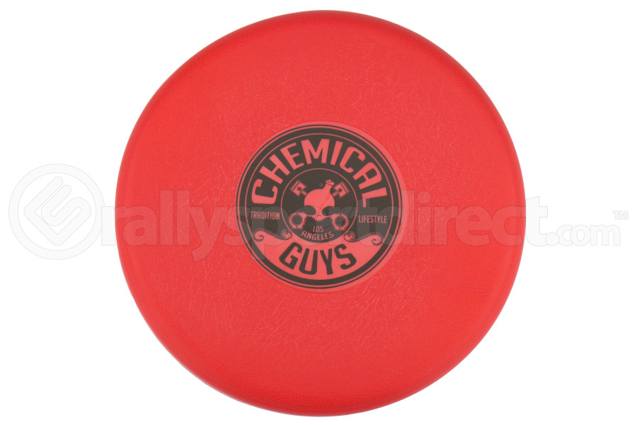 Chemical Guys Bucket Lid Cap Red w/Black Printed Logo - Universal