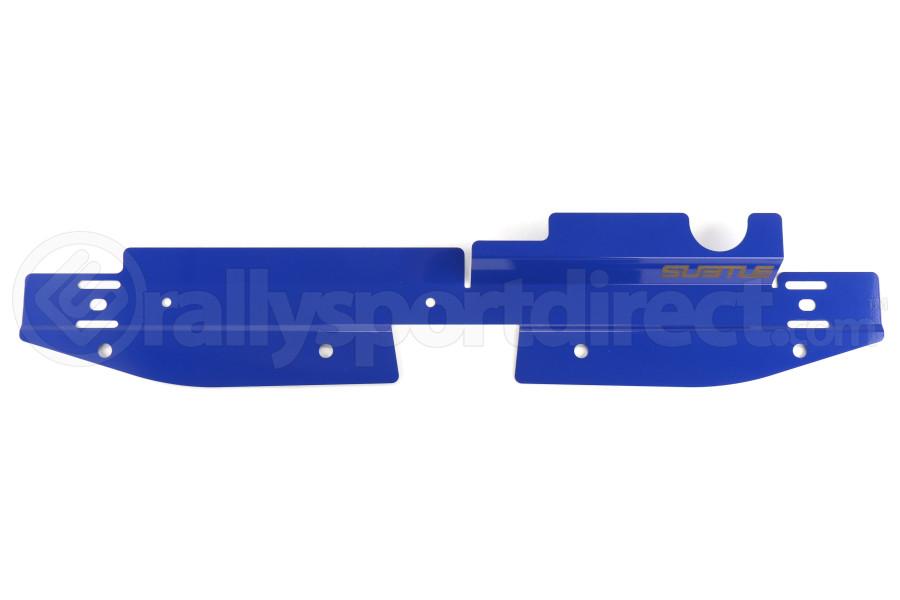 Subtle Solutions Radiator Shroud Blue - Subaru WRX 2008-2014 / STI 2008-2014