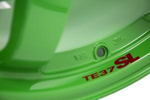 Volk TE37SL 18x9.5 +40 5x100 Takata Green - Universal