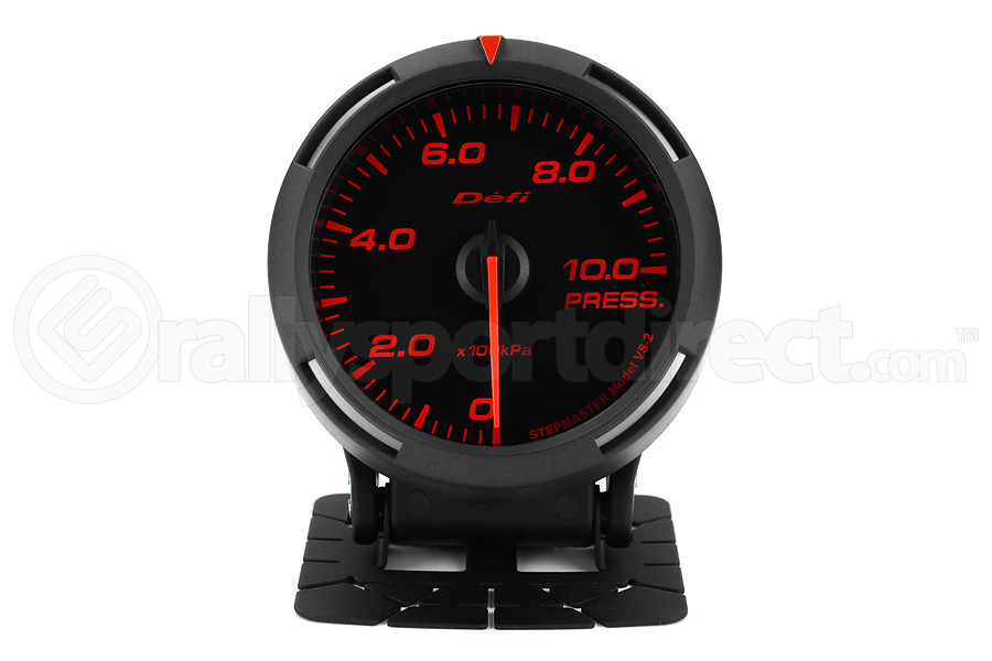 Defi Red Racer Pressure Gauge Metric 60mm 1000 kPa (Part Number:DF11605)