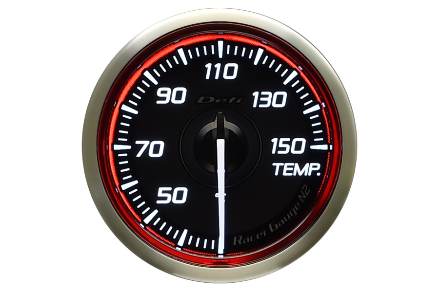 Defi DF Racer Temp Gauge Celsius 52mm - Universal