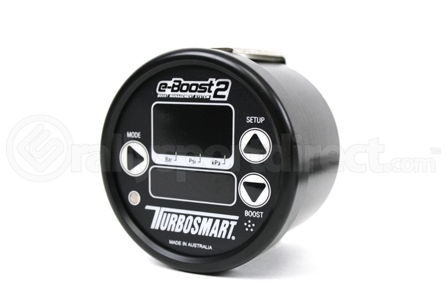 Turbosmart e-Boost2 60psi 60mm Sleeper (Black Face Black Bezel) (Part Number:TS-0301-1003)