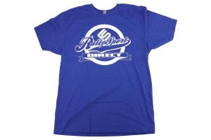RallySport Direct Front Center T-Shirt Blue - Universal