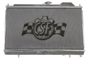 CSF Racing Radiator w/12in SPAL Fan and Shroud - Mitsubishi Evo 8/9 2003-2006