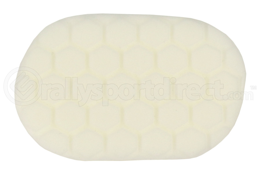 Chemical Guys Hex-Logic Hand Applicator Pad White (Part Number:BUFX_202)